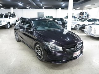 2015 Mercedes-Benz CLA-Class C117 806MY CLA200 DCT Black 7 Speed Sports Automatic Dual Clutch Coupe.