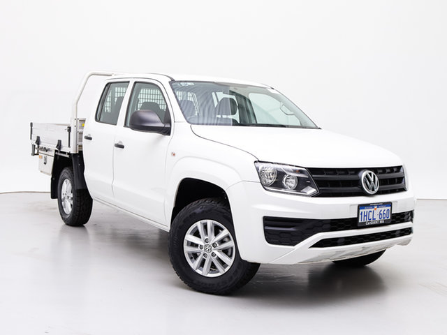Used Volkswagen Amarok 2H MY17 TDI420 Core Edition (4x4), 2017 Volkswagen Amarok 2H MY17 TDI420 Core Edition (4x4) White 8 Speed Automatic Dual Cab Chassis