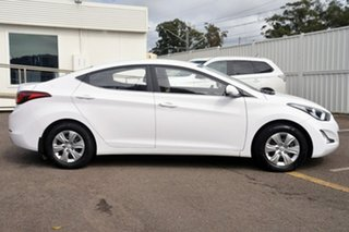 2014 Hyundai Elantra MD3 Active White 6 Speed Sports Automatic Sedan.