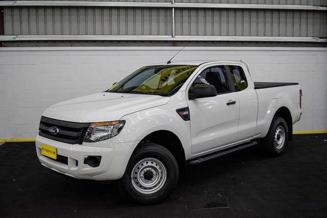 Used Ford Ranger PX MkII XL Hi-Rider, 2015 Ford Ranger PX MkII XL Hi-Rider White 6 Speed Sports Automatic Cab Chassis