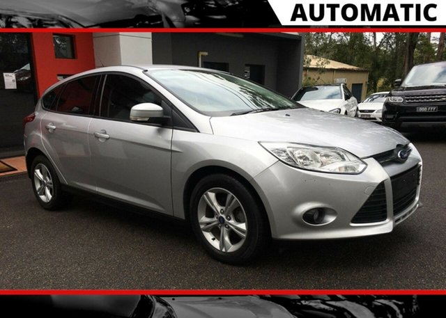 Used Ford Focus LW MkII Trend PwrShift, 2013 Ford Focus LW MkII Trend PwrShift Metallic Silver 6 Speed Auto Hatchback