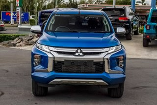 2019 Mitsubishi Triton MR MY19 GLS Double Cab Impulse Blue 6 Speed Sports Automatic Utility