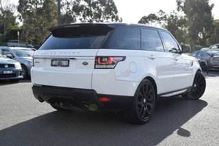 2018 Land Rover Range Rover Sport L494 18MY TDV6 SE White 8 Speed Sports Automatic Wagon