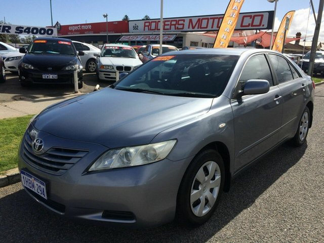 Used Toyota Camry ACV40R Altise Victoria Park, 2007 Toyota Camry ACV40R Altise Silver 5 Speed Automatic Sedan