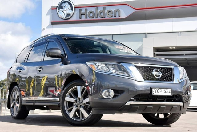 Used Nissan Pathfinder R52 MY14 Ti X-tronic 4WD, 2014 Nissan Pathfinder R52 MY14 Ti X-tronic 4WD Grey 1 Speed Constant Variable Wagon