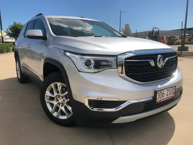 Used Holden Acadia AC MY19 LT 2WD, 2019 Holden Acadia AC MY19 LT 2WD Silver 9 Speed Sports Automatic Wagon