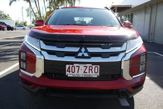 2020 Mitsubishi ASX XD MY20 LS 2WD Red 1 Speed Constant Variable Wagon.