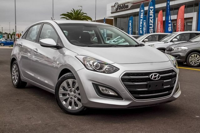Used Hyundai i30 GD3 Series II MY16 Active DCT Aspley, 2015 Hyundai i30 GD3 Series II MY16 Active DCT Silver 7 Speed Sports Automatic Dual Clutch Hatchback