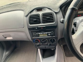 2005 Hyundai Accent LC MY04 GL Clean Silver 5 Speed Manual Hatchback