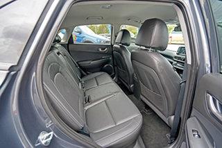 2017 Hyundai Kona OS MY18 Elite D-CT AWD Grey 7 Speed Sports Automatic Dual Clutch Wagon