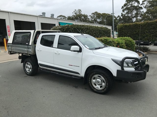 Used Holden Colorado RG MY17 LS Crew Cab, 2016 Holden Colorado RG MY17 LS Crew Cab White 6 speed Manual Cab Chassis