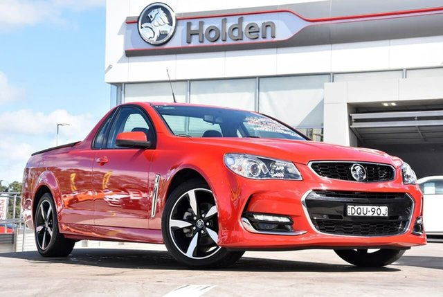 Used Holden Ute VF II MY17 SV6 Ute, 2017 Holden Ute VF II MY17 SV6 Ute Red 6 Speed Sports Automatic Utility
