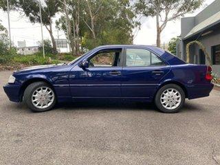 1999 Mercedes-Benz C-Class W202 C180 Classic Blue 5 Speed Automatic Sedan