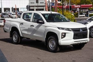 2020 Mitsubishi Triton MR MY20 GLX Double Cab ADAS White 6 Speed Manual Utility.