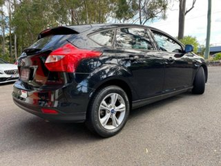 2013 Ford Focus LW MkII Trend PwrShift Individual Metallic Black 6 Speed Automatic Hatchback.