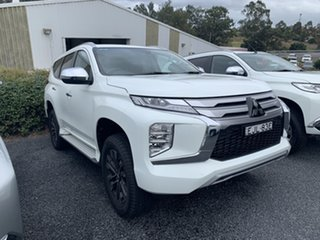 2020 Mitsubishi Pajero Sport QF MY20 GLS White 8 Speed Sports Automatic Wagon