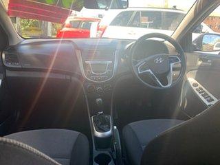 2012 Hyundai Accent Blue 5 Speed Manual Hatchback