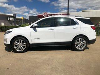 2019 Holden Equinox EQ MY20 LTZ FWD White 9 Speed Sports Automatic Wagon