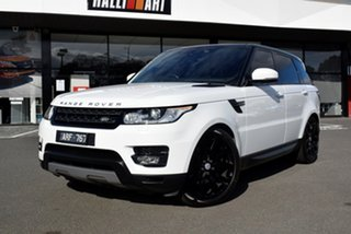 2018 Land Rover Range Rover Sport L494 18MY TDV6 SE White 8 Speed Sports Automatic Wagon.