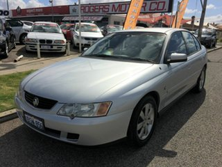 2004 Holden Commodore VY II Equipe Silver 4 Speed Automatic Sedan.