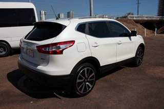 2015 Nissan Qashqai J11 TI White 1 Speed Continuous Variable Wagon