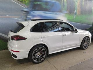 2015 Porsche Cayenne Series 2 MY15 GTS White 8 Speed Automatic Tiptronic Wagon.