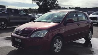 2007 Toyota Corolla ZRE152R Ascent Red 6 Speed Manual Hatchback.