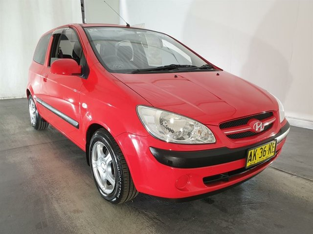 Used Hyundai Getz TB MY06 , 2006 Hyundai Getz TB MY06 Red 5 Speed Manual Hatchback