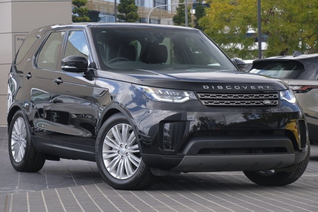 Demo Land Rover Discovery Series 5 L462 MY19 SE Newstead, 2019 Land Rover Discovery Series 5 L462 MY19 SE Santorini Black 8 Speed Sports Automatic Wagon