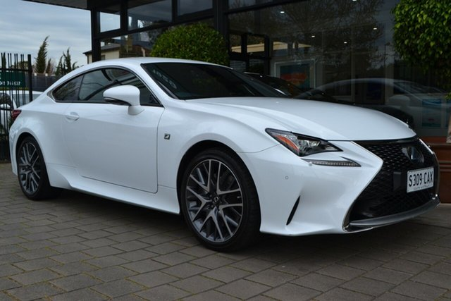 Used Lexus RC GSC10R RC350 F Sport, 2017 Lexus RC GSC10R RC350 F Sport White 8 Speed Sports Automatic Coupe