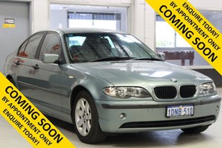 2004 BMW 318i E46 Green 5 Speed Auto Steptronic Sedan.