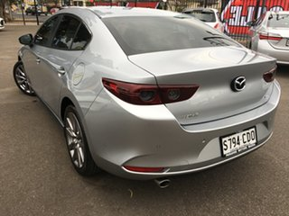 2019 Mazda 3 BP2SLA G25 SKYACTIV-Drive Evolve Silver 6 Speed Sports Automatic Sedan