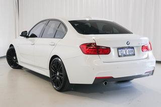 2015 BMW 3 Series F30 MY1114 320d M Sport White 8 Speed Sports Automatic Sedan.