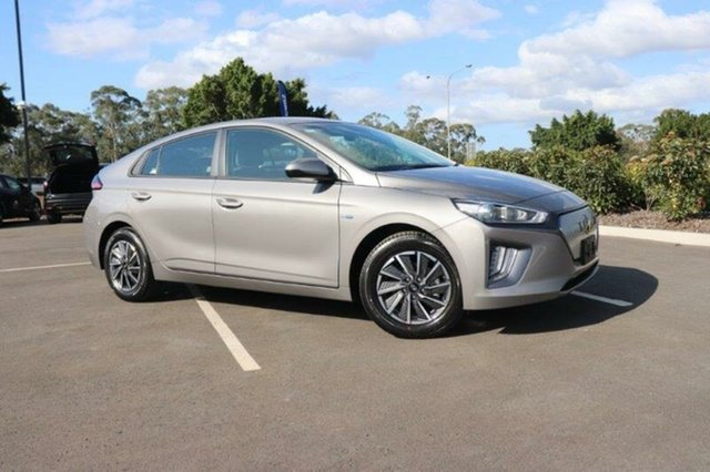 New Hyundai Ioniq AE.3 MY20 electric Elite Mount Gravatt, 2020 Hyundai Ioniq AE.3 MY20 electric Elite Fluid Metal 1 Speed Reduction Gear Fastback
