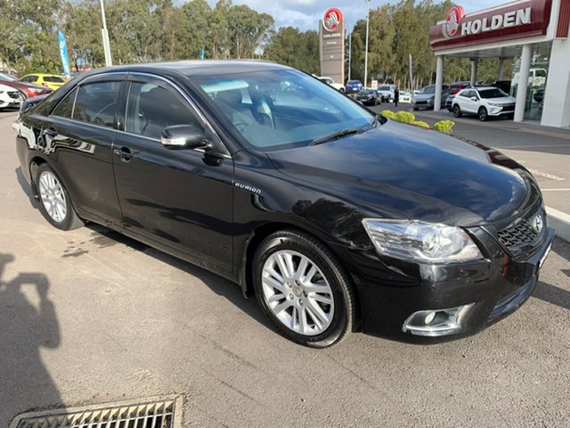 Used Toyota Aurion GSV40R MY10 Touring, 2011 Toyota Aurion GSV40R MY10 Touring Black 6 Speed Sports Automatic Sedan