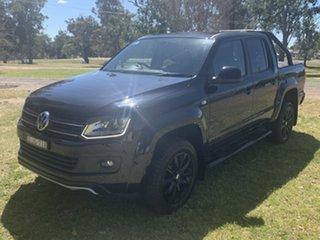 2016 Volkswagen Amarok 2H MY16 TDI420 4MOTION Perm Atacama Black 8 Speed Automatic Utility.