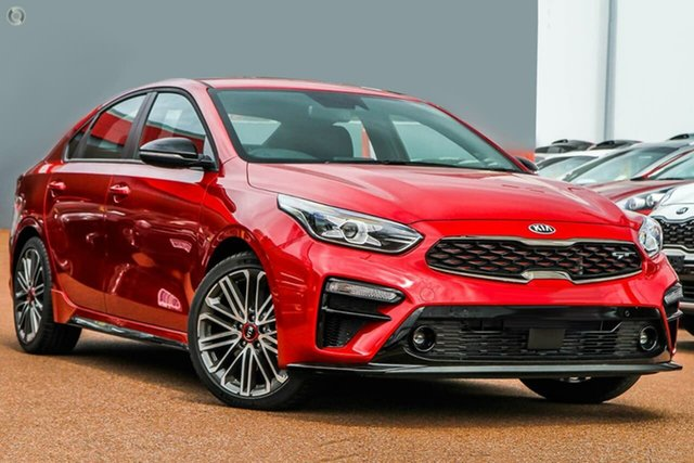 New Kia Cerato BD MY20 GT DCT, 2020 Kia Cerato BD MY20 GT DCT Red 7 Speed Sports Automatic Dual Clutch Sedan