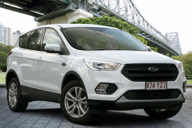 Used Ford Escape ZG 2019.75MY Ambiente, 2019 Ford Escape ZG 2019.75MY Ambiente White 6 Speed Sports Automatic SUV
