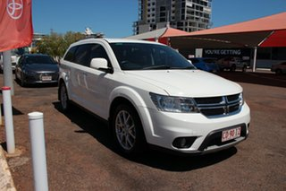 2014 Dodge Journey JC MY14 R/T White 6 Speed Automatic Wagon.
