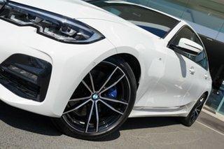 2019 BMW 330i F30 LCI M Sport Alpine White 8 Speed Auto Steptronic Sport Sedan.