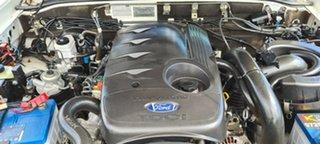 2010 Ford Ranger PK XL Hi-Rider White 5 Speed Manual Cab Chassis.