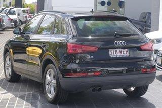 2015 Audi Q3 8U MY15 TFSI S Tronic Black 6 Speed Sports Automatic Dual Clutch Wagon.