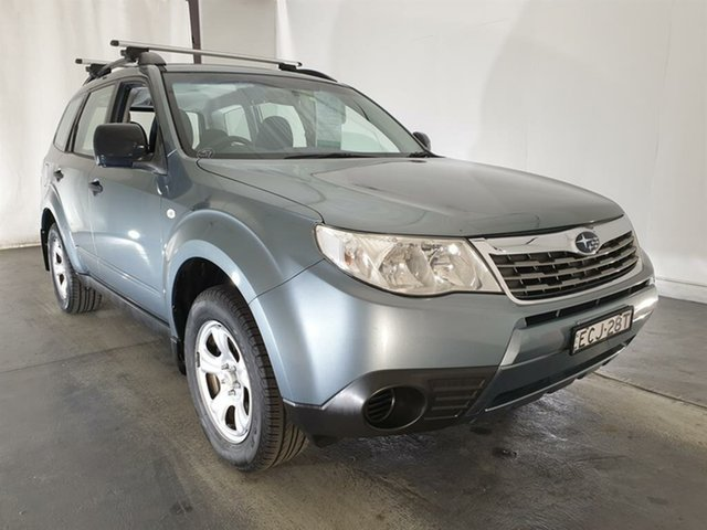 Used Subaru Forester S3 MY10 X AWD, 2010 Subaru Forester S3 MY10 X AWD Green 4 Speed Sports Automatic Wagon