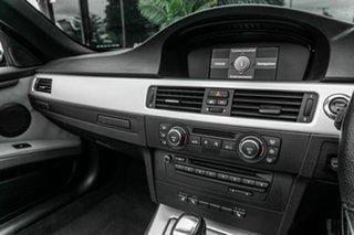 2008 BMW 3 Series E93 MY08 325i Steptronic Black 6 Speed Sports Automatic Convertible