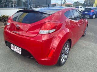 2012 Hyundai Veloster FS2 Coupe D-CT Red 6 Speed Sports Automatic Dual Clutch Hatchback