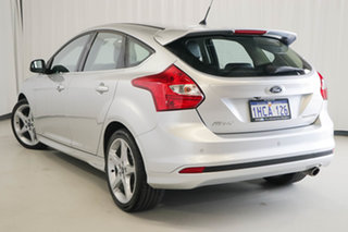 2014 Ford Focus LW MkII Titanium PwrShift White 6 Speed Automatic Hatchback.