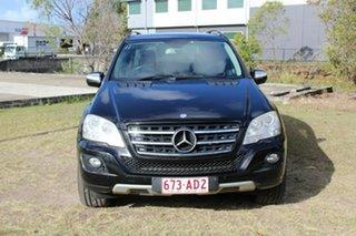 2010 Mercedes-Benz M-Class W164 MY10 ML350 CDI BlueEFFICIENCY Black 7 Speed Sports Automatic Wagon.