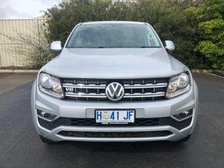 2018 Volkswagen Amarok 2H MY18 TDI550 4MOTION Perm Sportline Silver 8 Speed Automatic Utility.