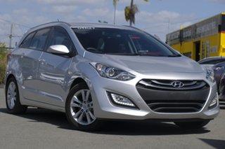 2014 Hyundai i30 GD Active Tourer Sleek Silver 6 Speed Sports Automatic Wagon.