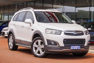 2015 Holden Captiva CG MY16 LTZ AWD White 6 Speed Sports Automatic Wagon.